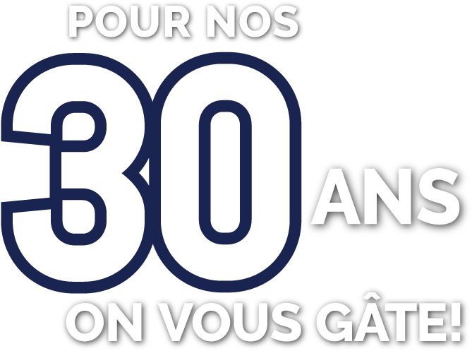 Promotion 30 ans de GBD Construction