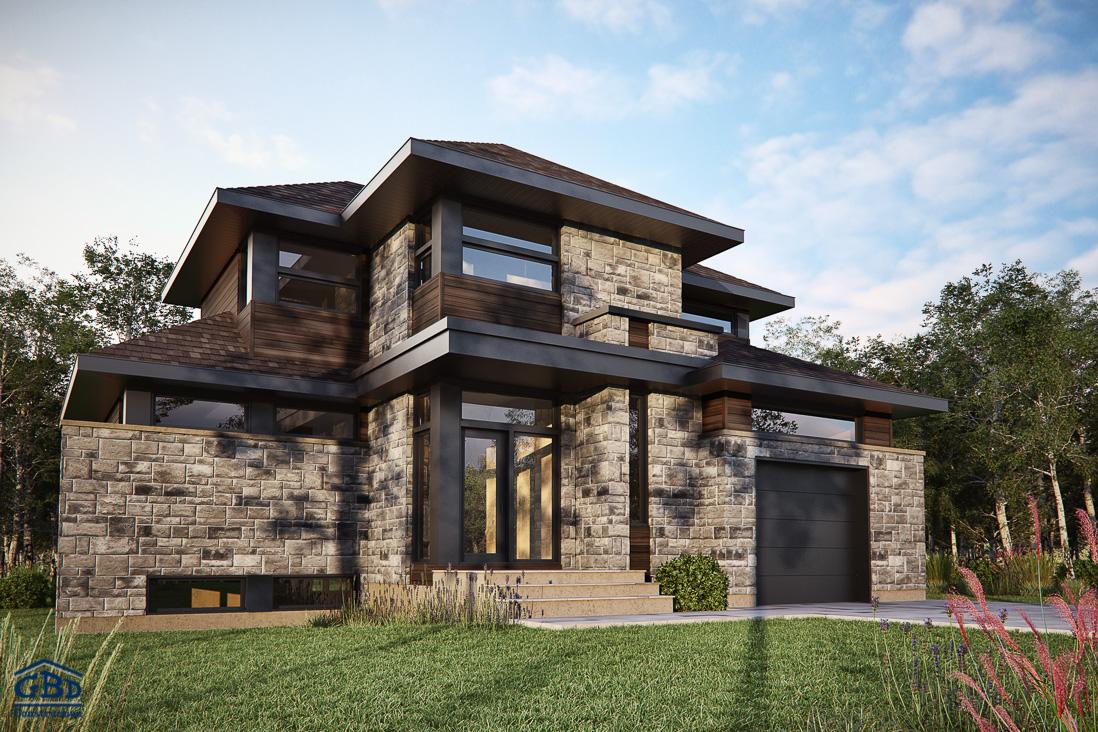 empire maison neuve deux tages de type cottage gbd construction. Black Bedroom Furniture Sets. Home Design Ideas