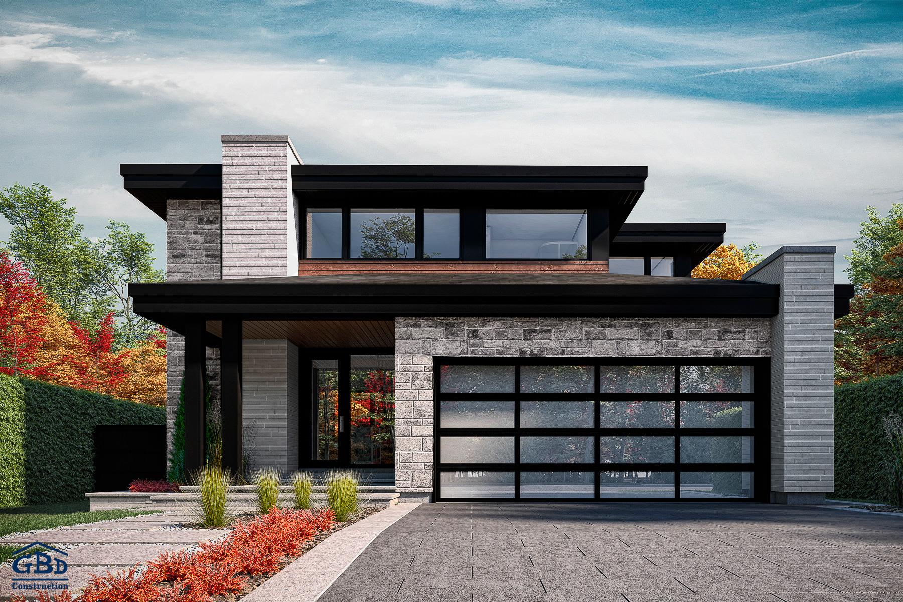 Construire Pres D Un Ruisseau newtown - maison neuve à deux étages de type cottage | gbd