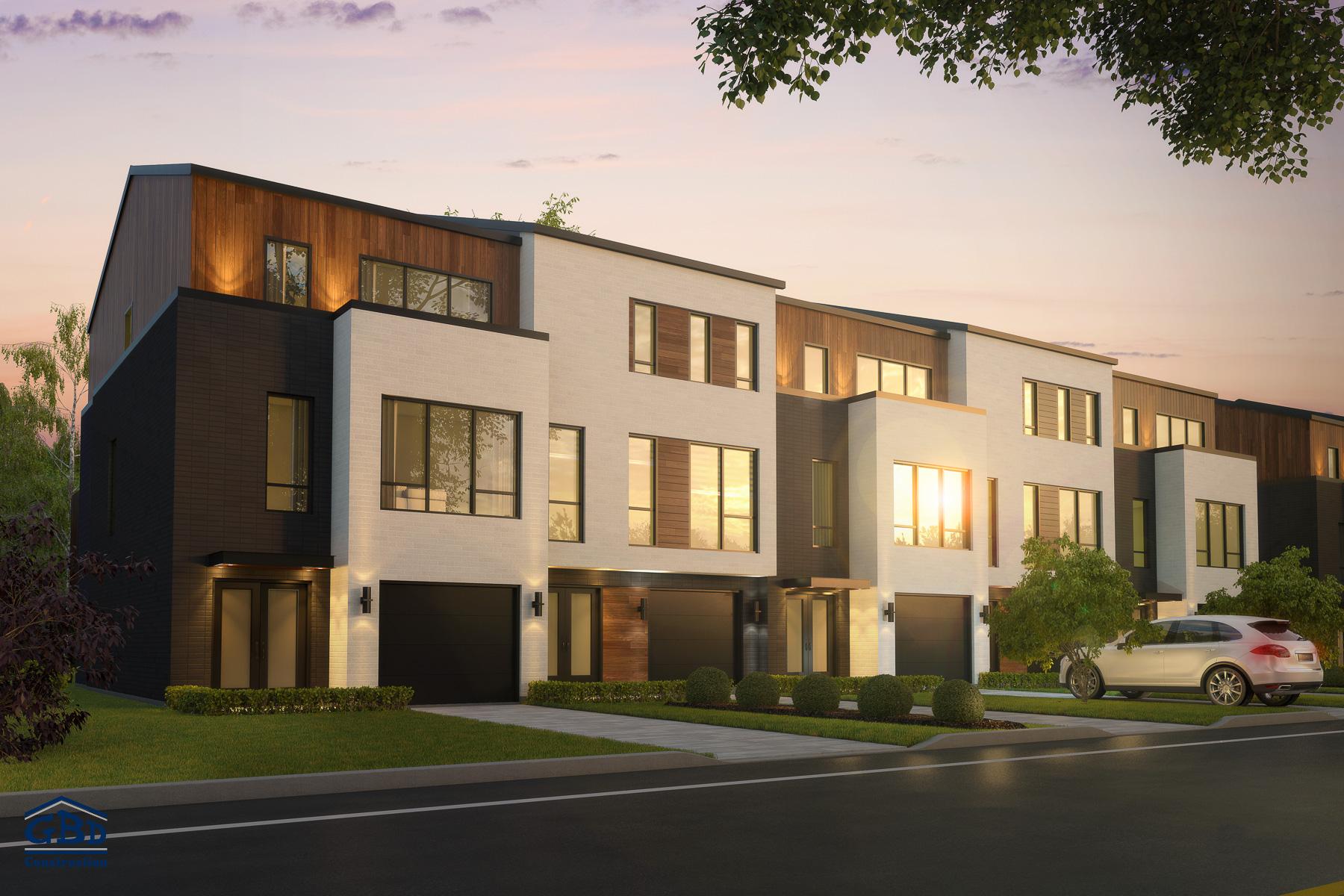 Maison neuve style ancien acheter une maison ou un for Acheter une maison en france