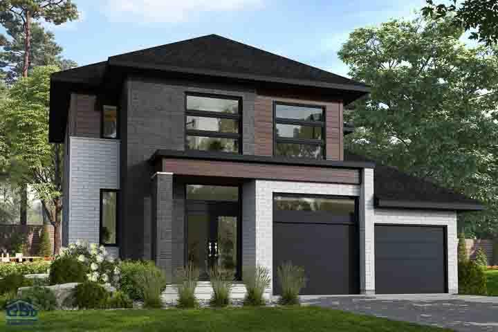 Maisons à Deux étages