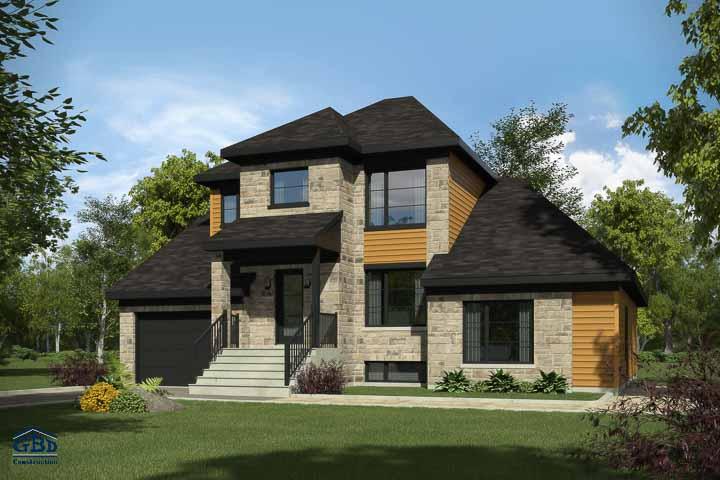 Maison neuve condo neuf maison jumel e maison de ville for Construction maison neuf