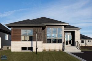 Maison neuve plain pied rive nord montreal quebec 00 for Construction maison neuve rive nord