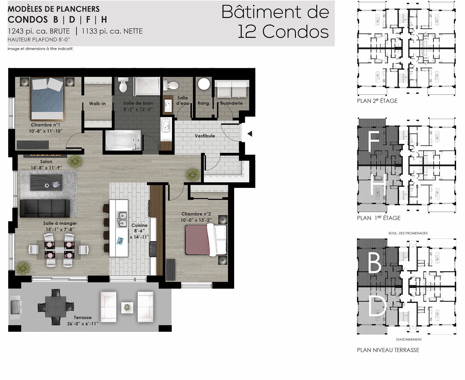Condos centrocit 12 unit s condo neuf gbd construction for Les plans de batiment