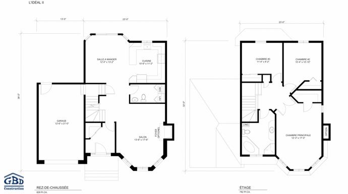 Idal Ii  Maison Neuve  Deux tages De Type Cottage  Gbd Construction