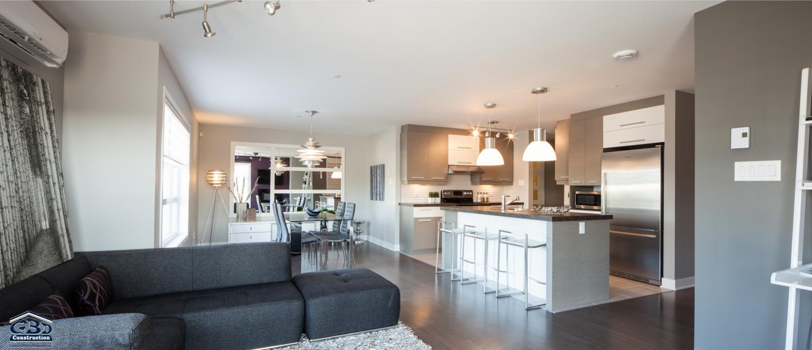 condominiums quatuo projet domiciliaire saint eustache gbd construction. Black Bedroom Furniture Sets. Home Design Ideas