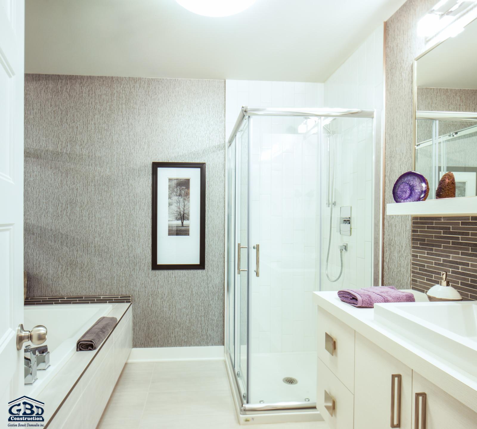 Condominiums quatuo projet domiciliaire saint eustache for Salle de bain 25 st eustache