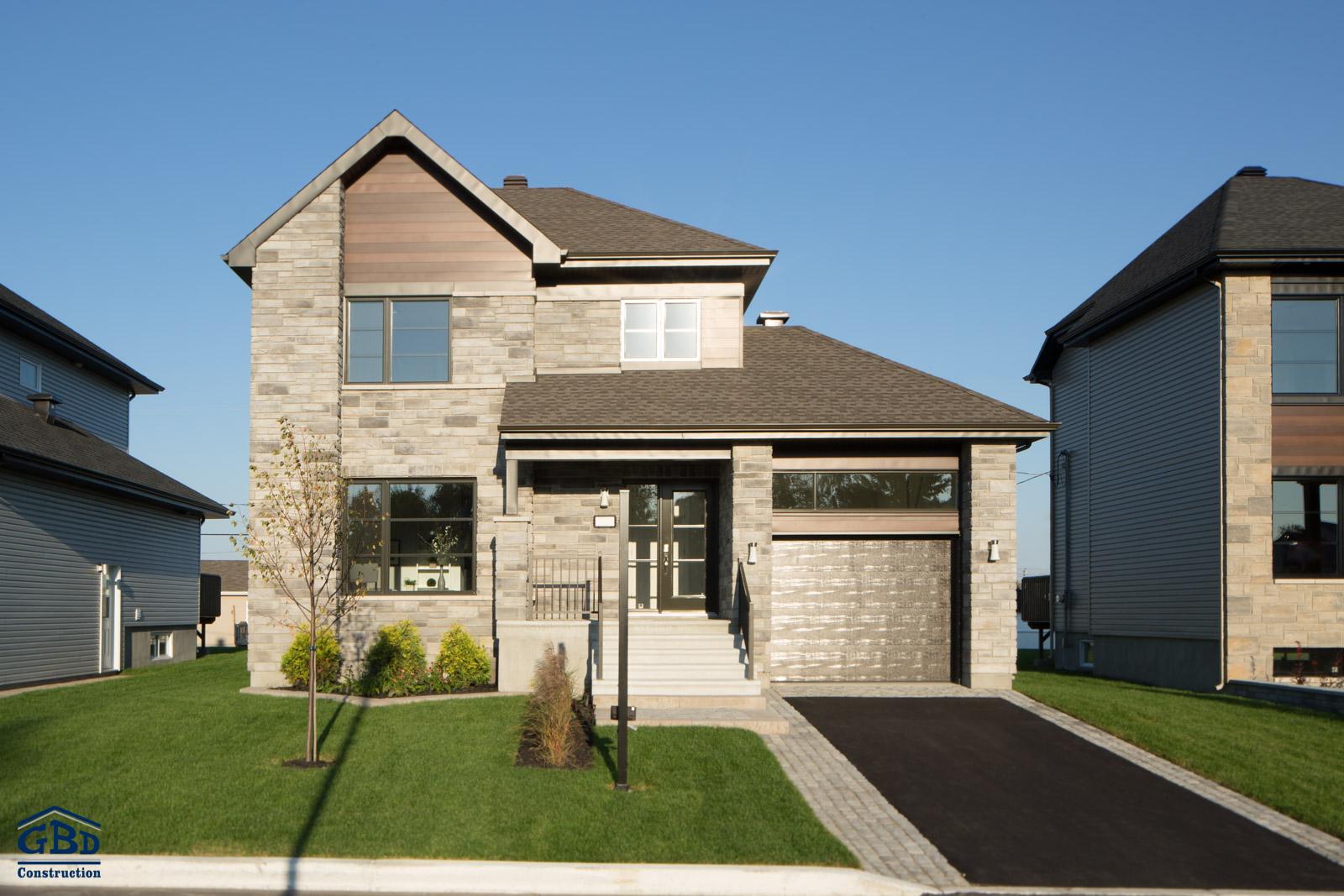 projet maison neuve maison moderne