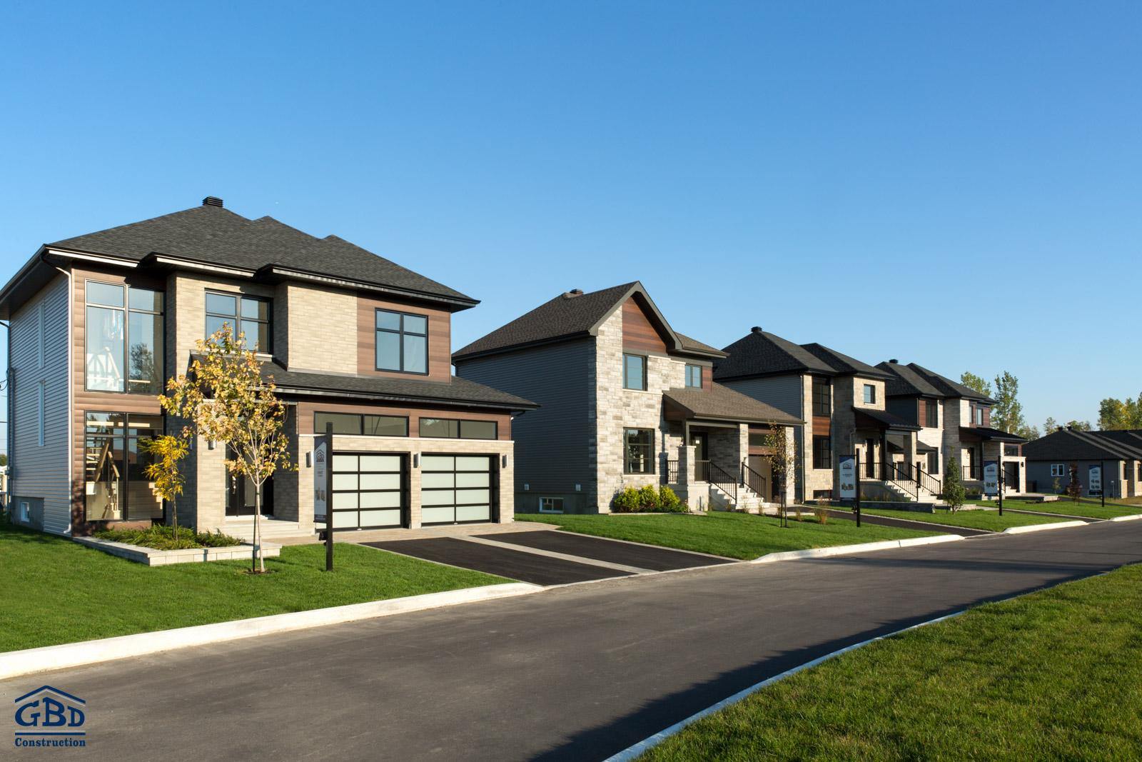 le faubourg ste marthe projet domiciliaire sainte marthe sur le lac gbd construction. Black Bedroom Furniture Sets. Home Design Ideas