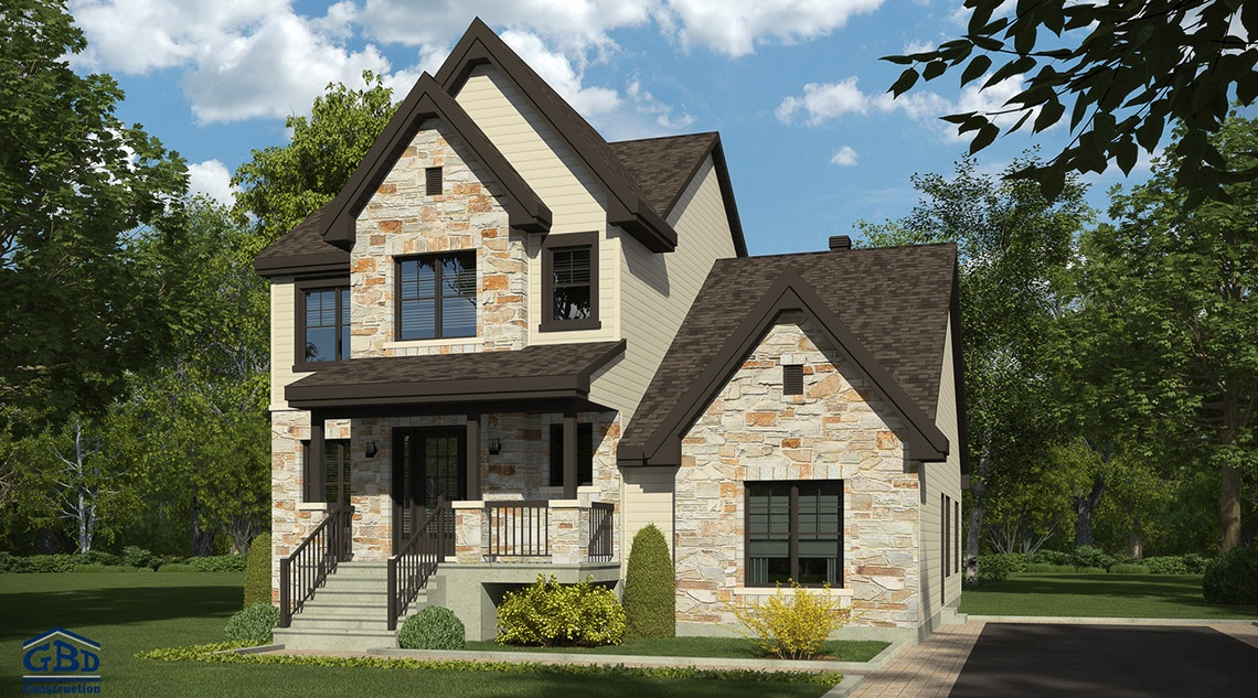 Nouvelles gbd construction for Modele maison intergeneration